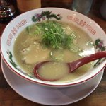 長浜ラーメン一番 - 料理写真:2017年11月22日  長浜ラーメン 713円