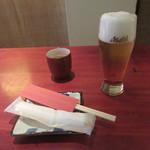 すが原 - 生ビール
