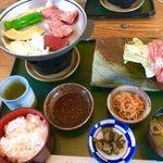 レストラン岡崎 - 「近江牛鉄板焼定食」2,800円(税込)