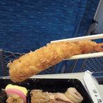 鶏太郎 アルデ新大阪店 - エビフライリフトアップ