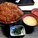 明治亭 - ソースかつ丼:1,340円税別