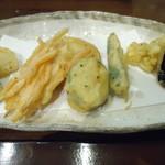 四季旬菜 ふくふく - 野菜の天ぷら