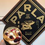 PARLA - 薔薇と木いちご 1,300円 (BERRY、ROSESAUCE、LYCHEE、CREAM PUDDING)