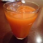 南欧風家庭料理 Bullo Bambino - ランチのドリンク☆野菜ジュースを選びました♪