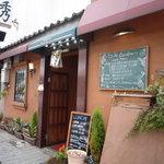 南欧風家庭料理 Bullo Bambino - 小倉駅を背に、コレットを通過してすぐの道沿いにあるお店です☆可愛らしい外観♪