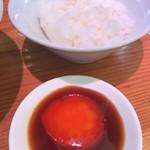 76341182 - 比内地鶏卵のづけ丼(米朝)