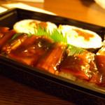 廣寿司 栄チカ南 - 穴子バッテラ