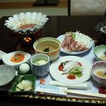 塩別つるつる温泉 - 夕食