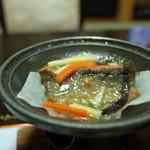 塩別つるつる温泉 - サンマ煮