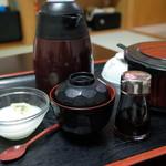 塩別つるつる温泉 - 杏仁豆腐