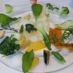 タテル ヨシノ ビズ  - 季節野菜のエチュベ