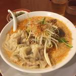 広州市場 - ワンタン担々麺