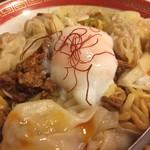 広州市場 - 汁無しワンタン担々麺