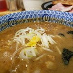 76348488 - 特製濃厚豚骨魚介つけ麺(1000円)