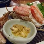 Gyokainonobu - 北海道毛がに甲羅詰め