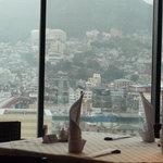 中国料理 桃林 - 窓の外に広がる素晴らしい景色☆