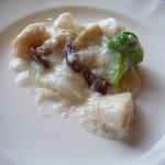 中国料理 桃林 - 海鮮二種の卵白炒め☆優しいお味です。