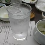 シーサイドホテル屋久島 - 三岳の水割り