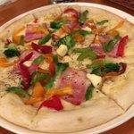 コットン - 『健康野菜たっぷり ベーコンのクリームピッツァ』1177円