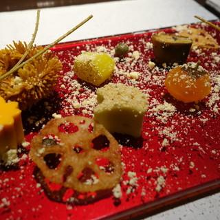 日本料理 TOBIUME - 料理写真:景色