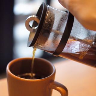コーヒーのこだわりもサンドウィッチに負けてない。