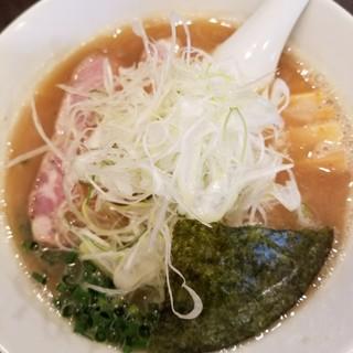 麺や 麗 - 料理写真:しょうゆ 800円 + ねぎ 100円