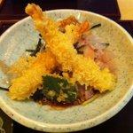 手打ち蕎麦・うどん 彩め - 海老天おろしそば 1,150円
