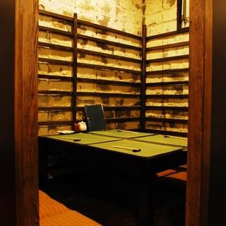 おこもり感のある掘りごたつの半個室は2~15名様までご利用可能です!