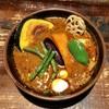 ラマイ - 料理写真:チキンスープカレー、デヴィフジン。