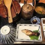 おひつ膳 田んぼ - 焼き魚定食(銀だら)