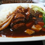 広華 - 豚角煮ご飯