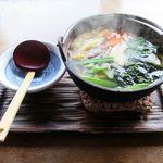ほくほく庵 - なべやき(900円)