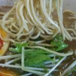 麺饗 松韻 - 中華そば(こってり)中 + 煮玉子
