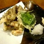 76364452 - もずくの天ぷら
