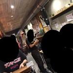 徳川ホルモンセンター - 内観6 ほぼ満席で賑わっていました! 2017/11/12