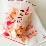 浜忠商店 - 料理写真:えびせんべい塩