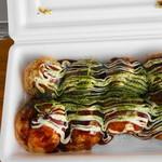 たこ焼き 福 - 料理写真:その場で撮った写真