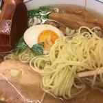 麺屋 ひょっとこ - ストレート細麺