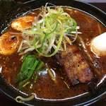 らーめん炙 - 料理写真:炙りネギ辛醤油