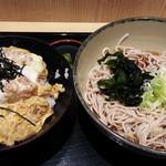 箱根そば - 料理写真:ミニかつ丼セット620円