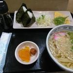 天霧うどん - 料理写真: