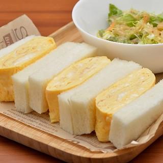 ★日替わり定食は750円(税別)~、定番の卵サンドもぜひ!