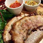 76374477 - 豚バラ肉のボルケッタ〜トマトソースとマスタード〜
