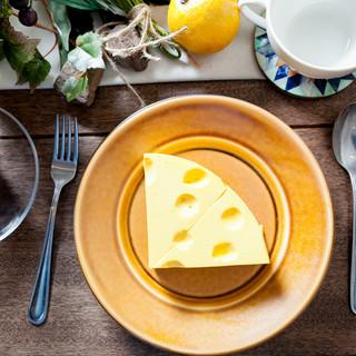 これって食べれるの?自家製チーズケーキ
