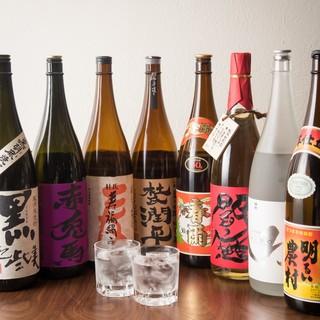 和食料理と相性抜群の、お酒も多数ご用意◎