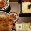 万さく - 料理写真:江戸前 海老天丼御膳(税込み1382円)