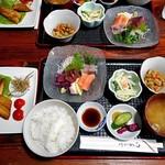 よし半 - 料理写真:刺身定食