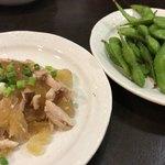 ようえん - クラゲ&枝豆