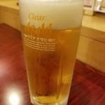湯処 ほのか - ドリンク写真:クリアアサヒ 380円