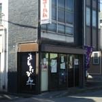 渡辺精肉店 - 店舗は古いです